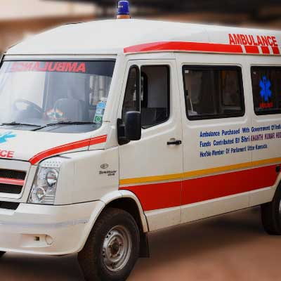 Ambulance With 24/7 Service